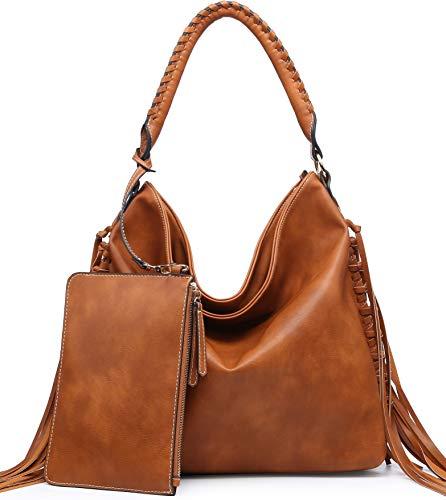 SHOMICO Hobo Bag for Women Boho Purses and Handbags Fringe Bags Big