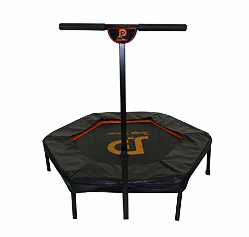 "Jump Power 44"" Hexagon Ultra-Bungee Fitness Trampoline w/T-bar & Safety Pad. Professional Gym Rebounder used in Homes, Gyms & Physio Clinics! Buy the Best, because Your Body Deserves It -  JumpPower, LT-6001-44HS"