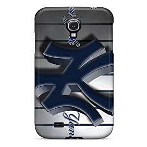 Samsung Galaxy S4 BGB14901VJzX Custom Stylish New York Yankees Pattern Scratch Protection Hard Cell-phone Cases -TimeaJoyce