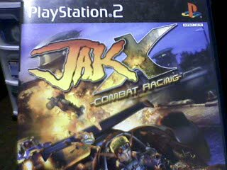 PS2 JAK X COMBAT RACING GREATEST HITS