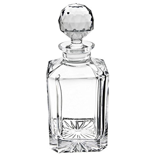 Personalized Classic Crystal Liquor and Whiskey Decanter by Crystalize Engraved & Monogrammed - Great Gift for Mother's Day, Weddings and Groomsmen by Crystalize (Image #5)