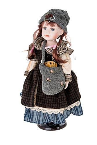 Large Porcelain Doll - Ellis Island large Dolls Porcelain Collection.Limited Edition