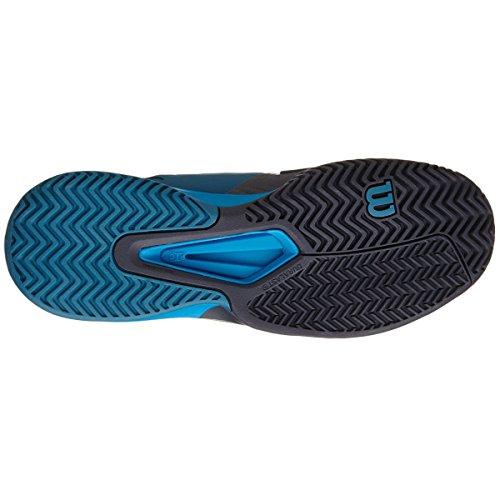 Wilson Rush Pro 2,0 Clay Court Mens Ultra marine/coal/metanfetamina Blue - UK 13,5