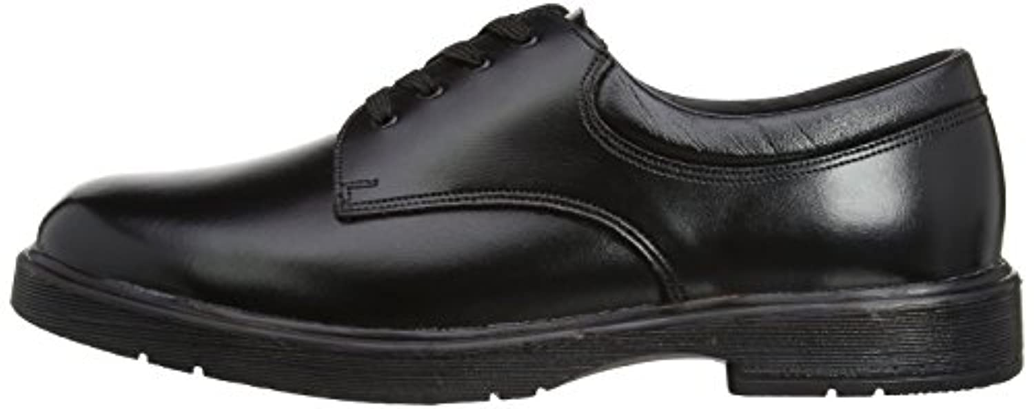 Toughees Boy's Clerk Shoes Black 1 UK