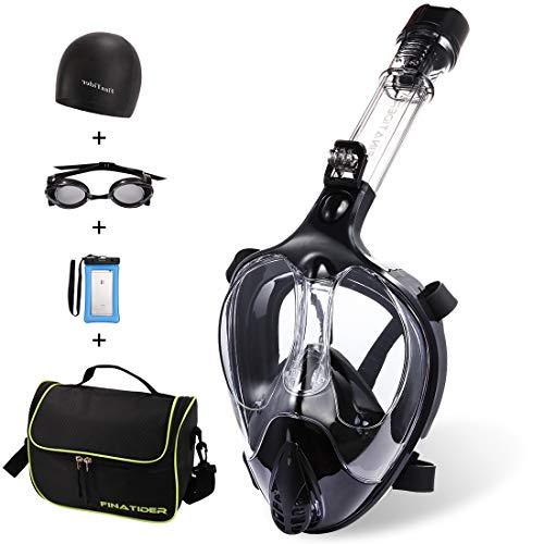 FinaTider Full Face Snorkel