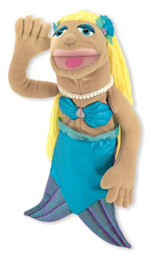 Melissa & Doug Mermaid Puppet With Detachable Wooden