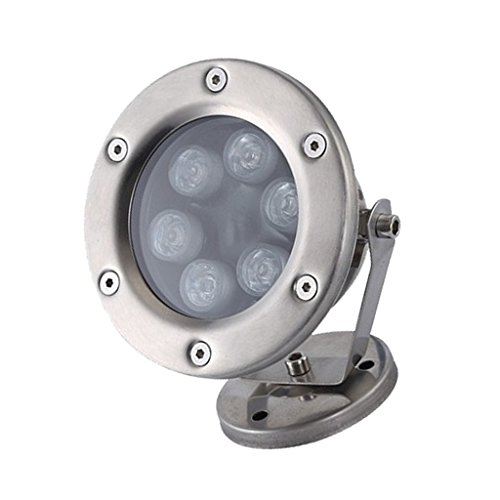 MagiDeal 6W LED Flood Light Outdoor Underwater Spot Light Pond Pool Lamp - Blue by Unknown