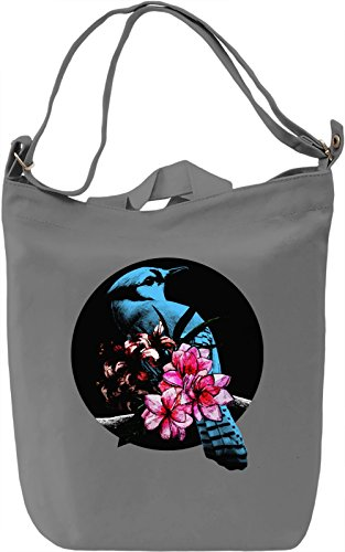 Blue Jay Bird Borsa Giornaliera Canvas Canvas Day Bag| 100% Premium Cotton Canvas| DTG Printing|