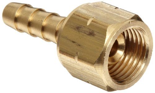 Dixon OA71 Acetylene Hose Brass Fitting, Coupler, 9/16