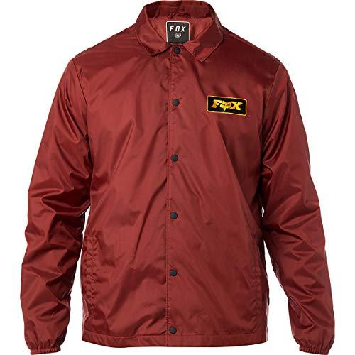 Fox Racing Men's Lad Jackets,X-Large,Bordeaux