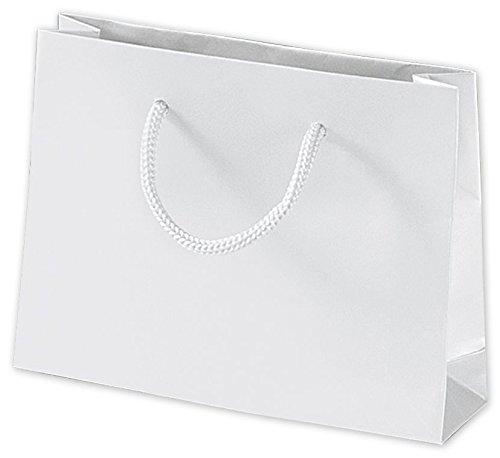 Eurotote Bag (White Matte Laminated Mini Euro-Totes (200 Bags) - BOWS-244M-050104-9M)