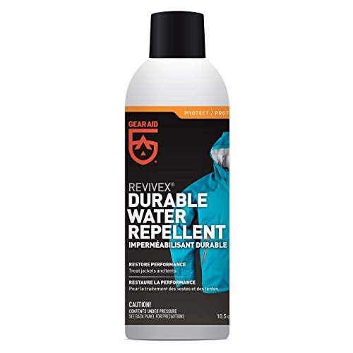 Gear Aid Revivex Durable Water Repellent (DWR) Spray for Reproofing Jackets, 10.5 oz - Mcnett Revivex Water Repellent