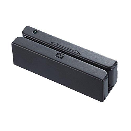 MSR90 USB Swipe Magnetic Credit Card Reader 3 Tracks Mini Smart Card Reader rcloud Ltd