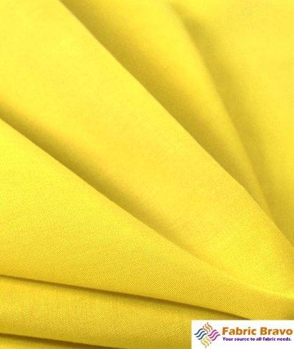 Yellow Broadcloth - 1 X Yellow 60