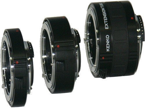 Kenko Auto Extension Tube Set DG 12mm, 20mm, and 36mm Tubes