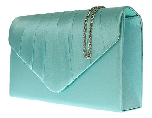 Verde para mujer Girly de Menta mano Handbags Cartera x7HCq