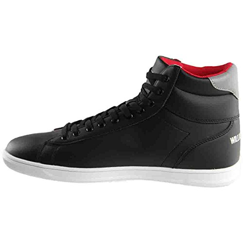 ... William Rast - Mens Pigg 2 Mid Joggesko Sort ...