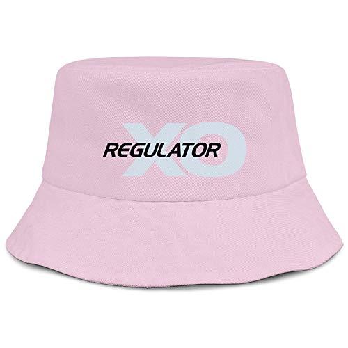 Cambpdkje Mens Guys Summer Caps Regulator-Marine-Logo-Black- Pink Fashion Visor