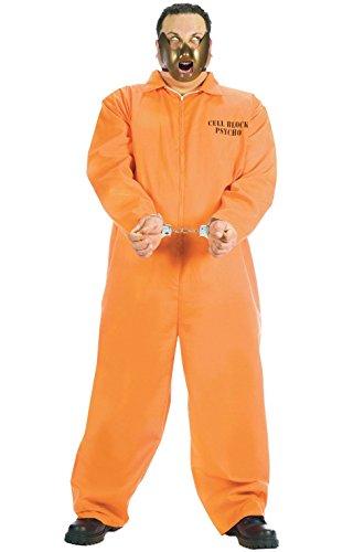 [Mememall Fashion Jail Prisoner Cell Block Psycho Plus Size Halloween Costume] (Bavarian Guy Adult Plus Costumes)