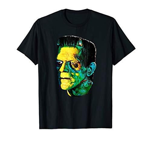 Karloff Frankenstein Monster Horror Movie Fan T-Shirt]()