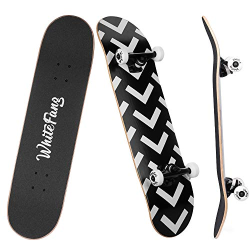 WhiteFang Skateboards for Beginners