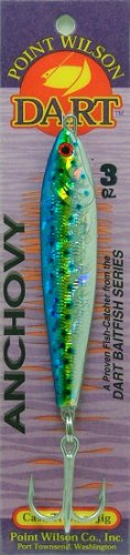 Point Wilson Dart Anchovy Jig (Dorado - 3 oz.)