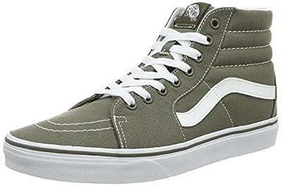 Vans SK8 Hi Canvas Grape Leaf Men's Skate Shoes Size 12