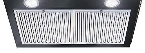Faber-60cm-1000-m3hr-Chimney-Hood-Tratto-Plus-BK-LTW-60-2-Triple-Layer-Baffle-Filters-Black