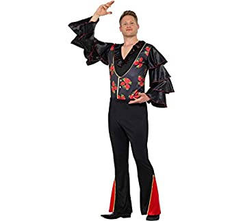 Smiffys Disfraz de Flamenco con Flores para Hombre: Amazon.es ...