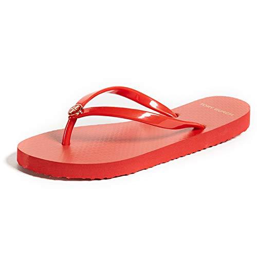 Tory Burch Women's Thin Flip Flop (12 M US, Poppy Orange) from Tory Burch