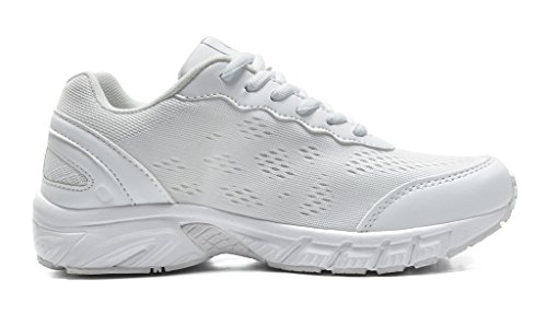 DREAM PAIRS Womens 160480-W Sport Running Shoes Sneakers White XR2yP