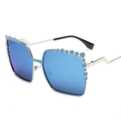 702dc5a3c3 Gafas de sol @Gafas Gafas de sol de moda redondas elegantes coreana Lady  Retro Sunglasses
