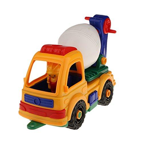 【ノーブランド品】子供 エンジニアリング車 人気おもちゃ ゲームセット 分解組立 贈り物
