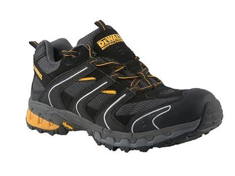 DeWalt Cutter - Zapatillas de seguridad (ligeras, talla 43), color negro y gris: Amazon.es: Bricolaje y herramientas