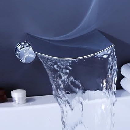 Lightinthebox Contemporary Bathroom Sink Faucet Wall Mount Bathtub ...