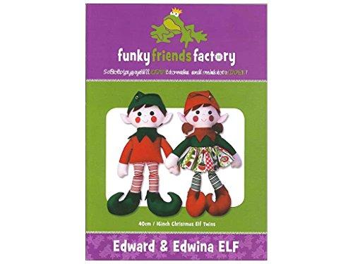 Funky Friends Factory Edward & Edwina Elf (Elf Hat Pattern)