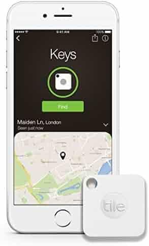 Tile Mate - Key Finder. Phone Finder. Anything Finder - 4 Pack (Packaging May Vary)