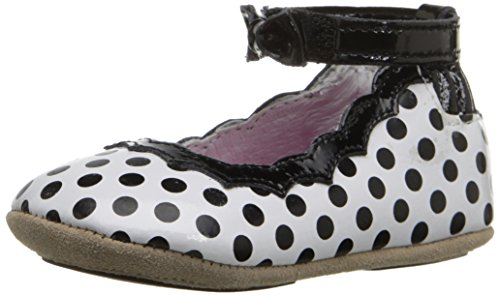 d Sole Mini Shoe (Infant), Black/White, 9-12 Months M US ()