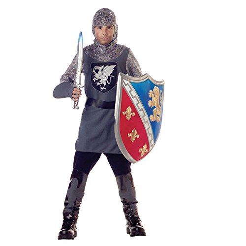 Valiant Knight Childrens Costumes (Valiant Knight Costume for Boy)