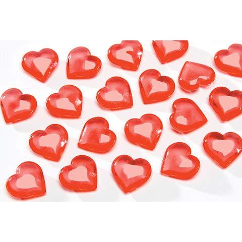 Diamond GEMS CN2033-1065 Floral Hearts Red 7 Ounces