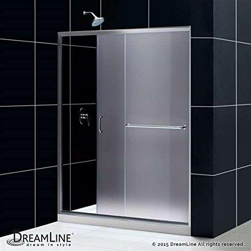 infinity z frameless sliding shower