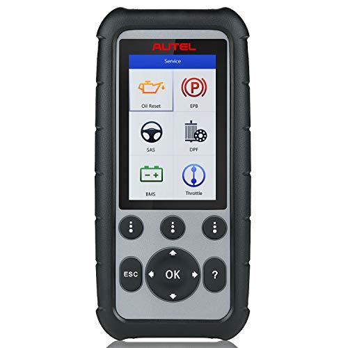 Autel MaxiDiag MD806(actualizada md802) Herramienta de diagnostico de automovil para 4 Sistemas,Motor,Transmision,SRS y ABS,Escaner OBD2 con EPB,restablecimiento de Aceite,DPF,SAS y BMS