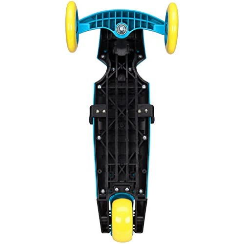 Nijdam enfants Mini Scooter Tri – Surf, Blue, One Size