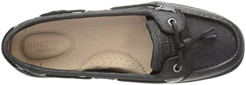 Sperry Top-Sider Womens Dunefish Boat Shoe Black