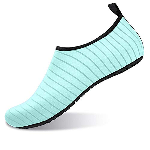 Yuchun Men Unisex Summer Beach Hole Shoes Swim Quick-Drying Fashion Swim Shoes(K013,7)