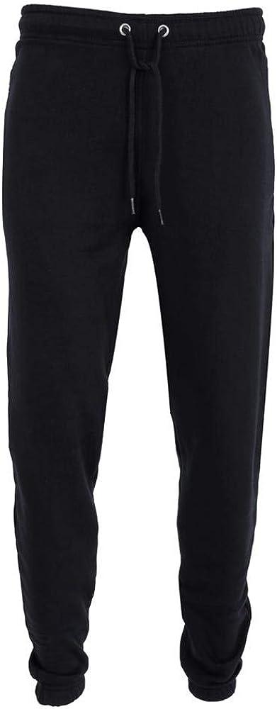 New Men/'s Gents Open Hem Jogging Bottoms Joggers  Fleece Trousers Plus Sizes 5XL