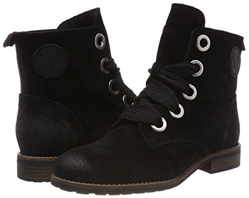 Ankle 31 black Women's 1 25210 Black oliver S Boots qtI40