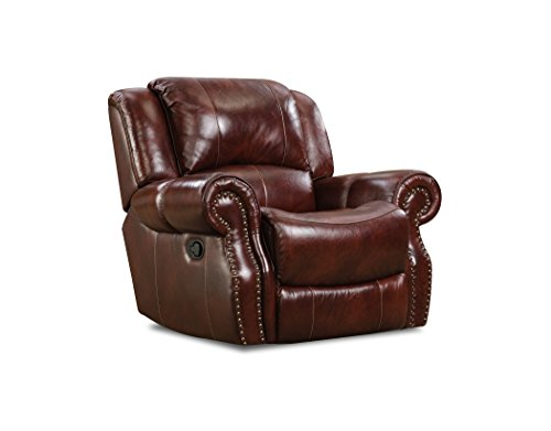 Cambridge 98528RR-OB Telluride Leather Rocker Recliner (Telluride Leather)