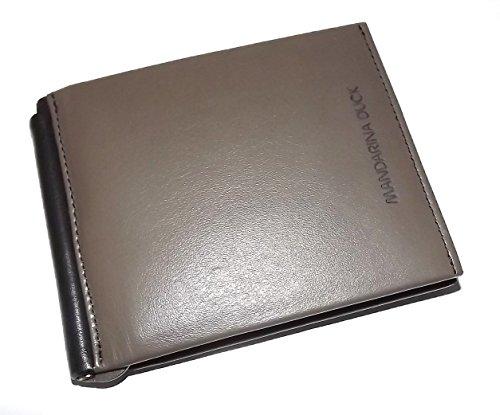 mandarina-duck-mens-italian-leather-bifold-8-pocket-money-clip-wallet-grey