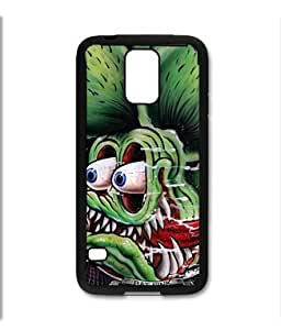 Pink Ladoo? Samsung Galaxy S5 Black Case - Rat Fink Ed Roth painting